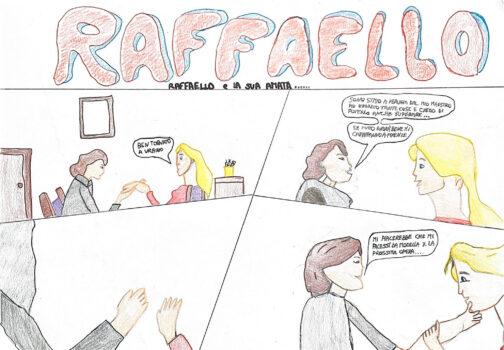 Un fumetto a corte. Fumetti a puntate sulla storia di Raffaello